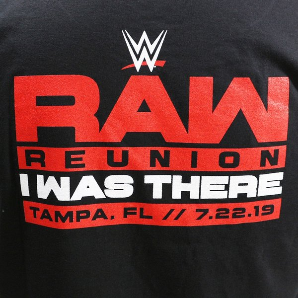 Tシャツ WWE RAW Reunion Event ブラック|bdrop|05