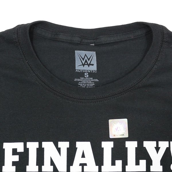 Tシャツ WWE The Rock (ザ・ロック) Smackdown ブラック|bdrop|06