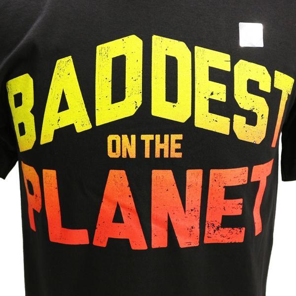 WWE Ronda Rousey(ロンダ・ラウジー) Baddest On The Planet ブラックTシャツ|bdrop|02