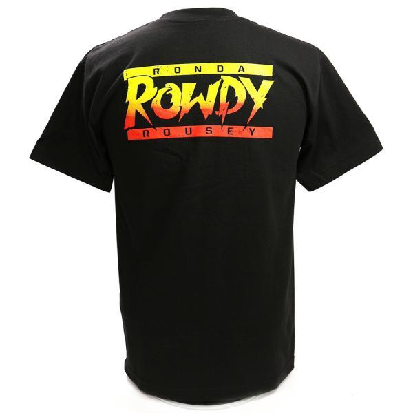 WWE Ronda Rousey(ロンダ・ラウジー) Baddest On The Planet ブラックTシャツ|bdrop|04