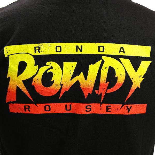 WWE Ronda Rousey(ロンダ・ラウジー) Baddest On The Planet ブラックTシャツ|bdrop|05