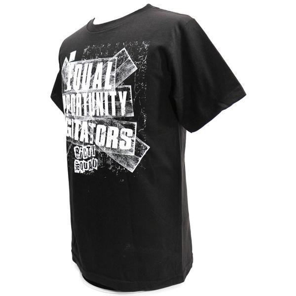 WWE Riott Squad(ライオット・スクワッド) Equal Opportunity Agitators ブラックTシャツ|bdrop|03