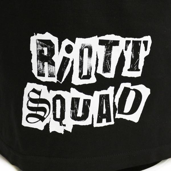 WWE Riott Squad(ライオット・スクワッド) Equal Opportunity Agitators ブラックTシャツ|bdrop|05