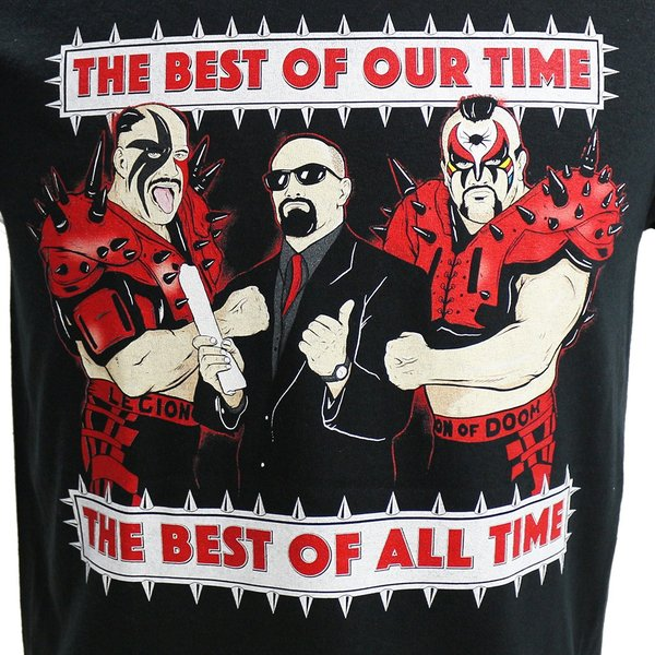 WWE Road Warriors(ロード・ウォリアーズ) The Best Of All Time ブラックTシャツ|bdrop|02