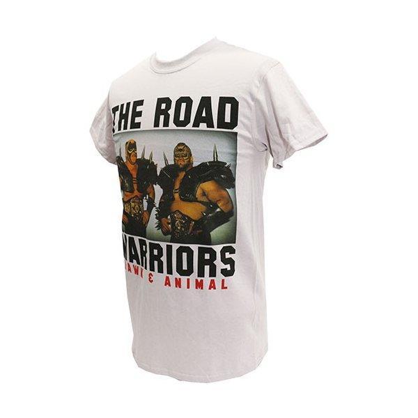 Tシャツ WWE Road Warriors(ロード・ウォリアーズ) Classic ライトグレー|bdrop|03