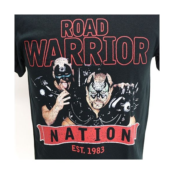 Tシャツ WWE Road Warriors(ロード・ウォリアーズ) Nation|bdrop|02