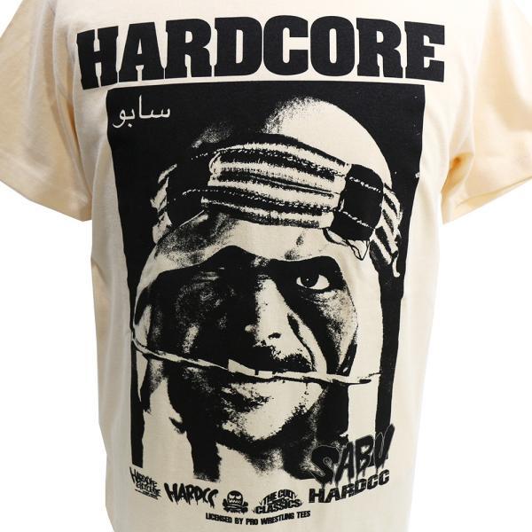 Tシャツ WWE/ECW サブゥー/HARDCORE(カーペット・ナチュラル)Hardcore Chocolate/ハードコアチョコレート|bdrop|02