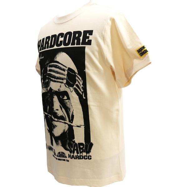 Tシャツ WWE/ECW サブゥー/HARDCORE(カーペット・ナチュラル)Hardcore Chocolate/ハードコアチョコレート|bdrop|03