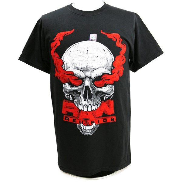 Tシャツ WWE Steve Austin(スティーブ・オースチン) RAW Reunion ブラック|bdrop
