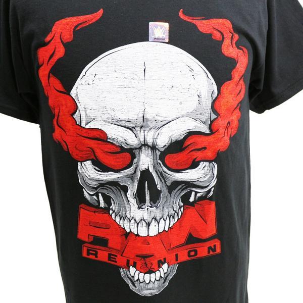 Tシャツ WWE Steve Austin(スティーブ・オースチン) RAW Reunion ブラック|bdrop|02