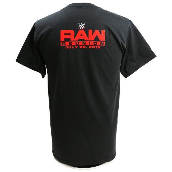 Tシャツ WWE Steve Austin(スティーブ・オースチン) RAW Reunion ブラック|bdrop|04
