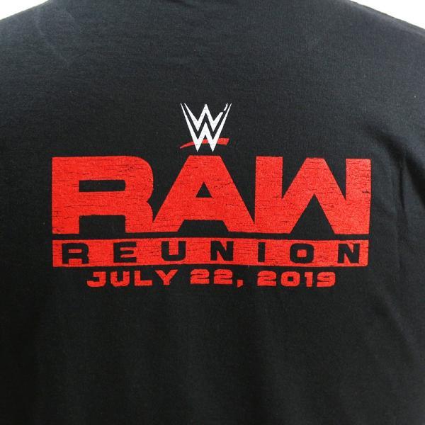 Tシャツ WWE Steve Austin(スティーブ・オースチン) RAW Reunion ブラック|bdrop|05