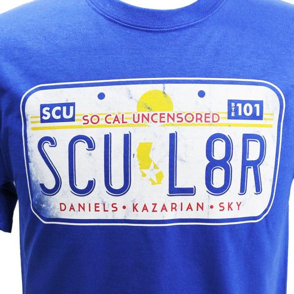 AEW SoCal Uncensored(ソーカル・アンセンサード) SCU L8R ブルーTシャツ|bdrop|02