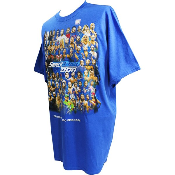 WWE SmackDown 1000 Event ブルーTシャツ|bdrop|03