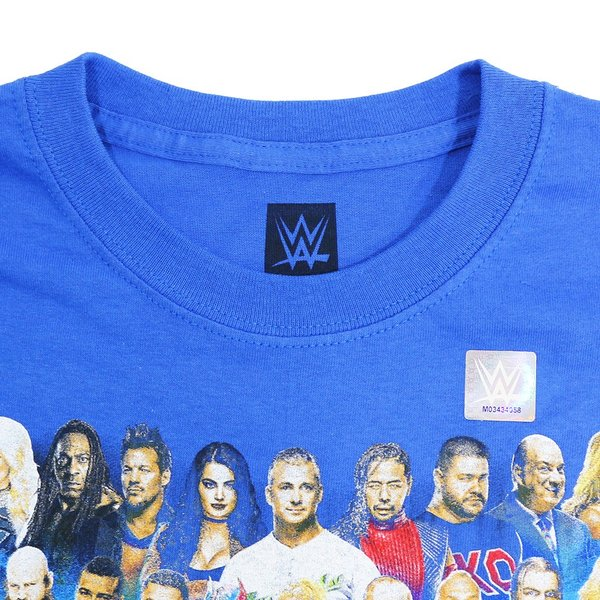 WWE SmackDown 1000 Event ブルーTシャツ|bdrop|06