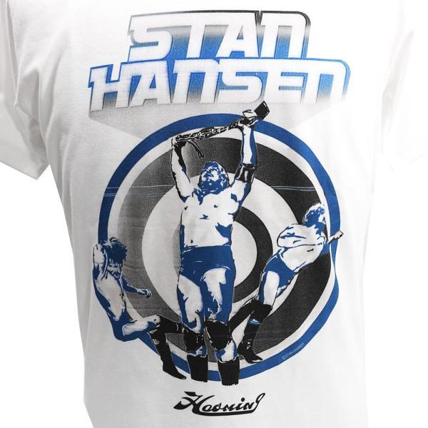Haoming STAN HANSEN(スタン・ハンセン) ×HMG ホワイトTシャツ|bdrop|02