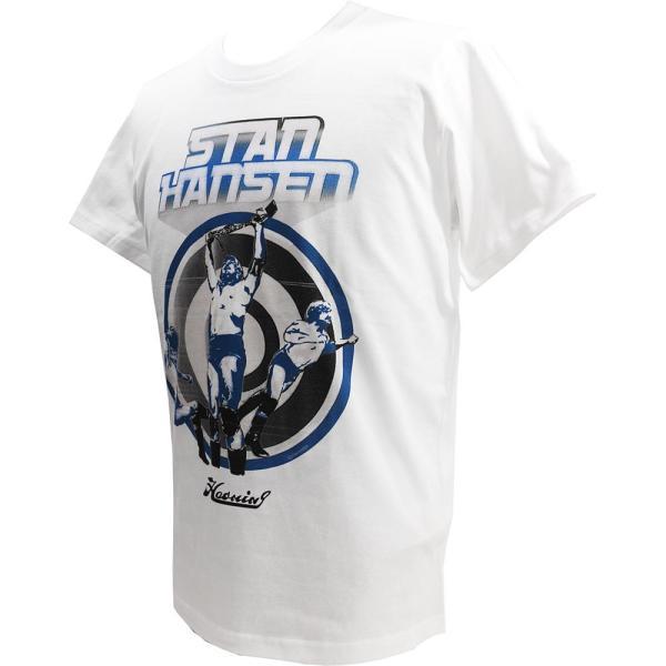 Haoming STAN HANSEN(スタン・ハンセン) ×HMG ホワイトTシャツ|bdrop|03