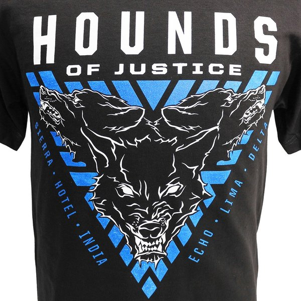 WWE The Shield(ザ・シールド) Hounds of Justice ブラックTシャツ|bdrop|02