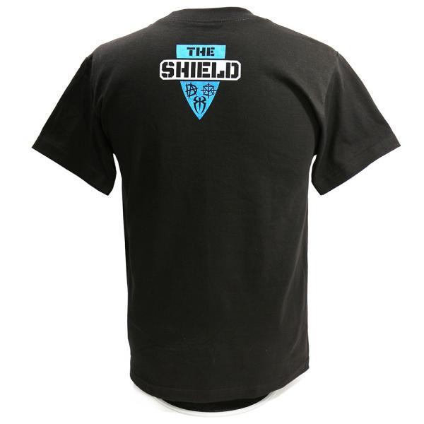 WWE The Shield(ザ・シールド) Hounds of Justice ブラックTシャツ|bdrop|04
