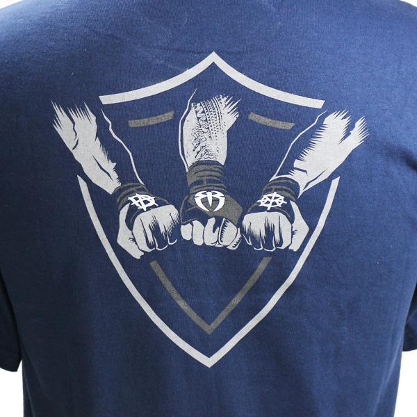 wwe the shield ザ シールド justice has returned ネイビーtシャツ t