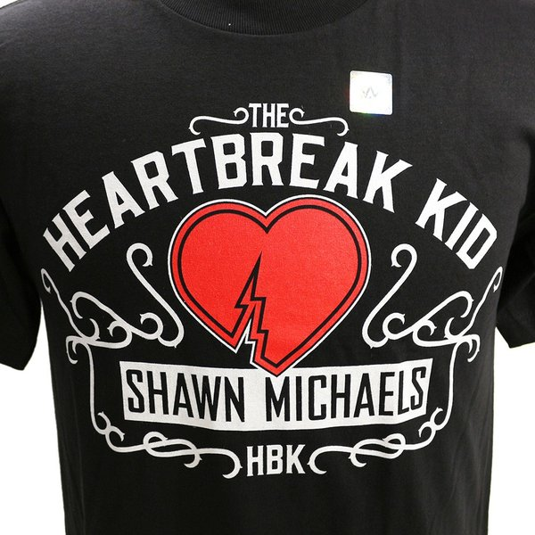 f3c23a65f Shawn Michaels The Heartbreak Kid Red T-Shirt HBK WWE Wrestling Fan Apparel  & Souvenirs