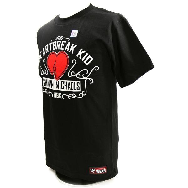 WWE Shawn Michaels(ショーン・マイケルズ) The Heartbreak Kid ブラックTシャツ|bdrop|03