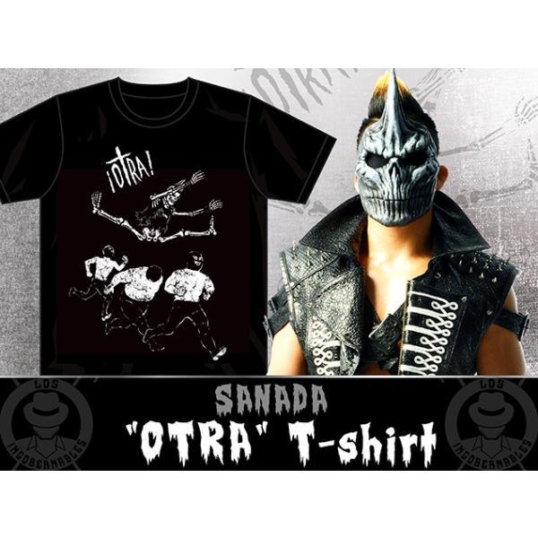 新日本プロレス NJPW SANADA「OTRA」Tシャツ|bdrop|03