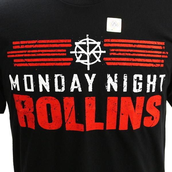 WWE Seth Rollins (セス・ローリンズ) Monday Night Rollins Tシャツ|bdrop|02