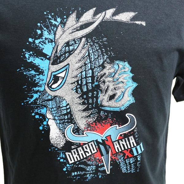 Ultimo Dragon(ウルティモ・ドラゴン) Dragomania 2018 ブラックTシャツ|bdrop|02