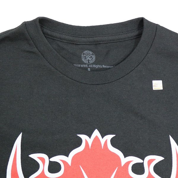 WWE Undertaker (アンダーテイカー)Red Devil Retro ブラックTシャツ|bdrop|06