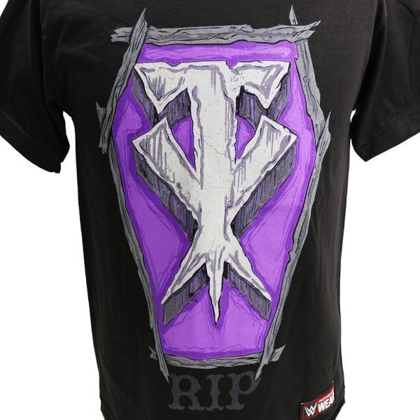 WWE Undertaker (アンダーテイカー) RIP ブラックTシャツ bdrop 02