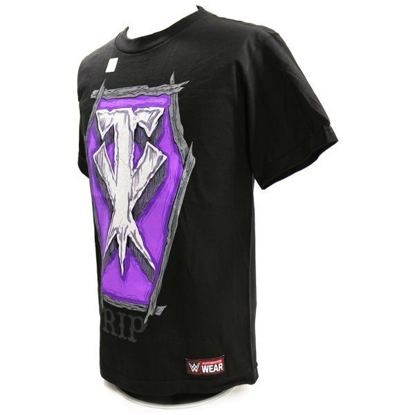 WWE Undertaker (アンダーテイカー) RIP ブラックTシャツ bdrop 03