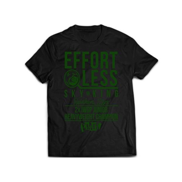 新日本プロレス NJPW ウィル・オスプレイ「EFFORTLESS」Tシャツ bdrop
