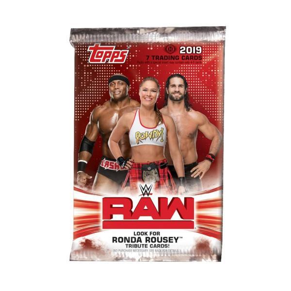 WWE RAW 2019 Topps トレーディングカード 1パック|bdrop