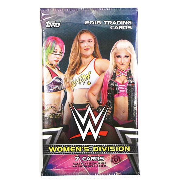 WWE Womens Division 2018 Topps トレーディングカード 1パック|bdrop