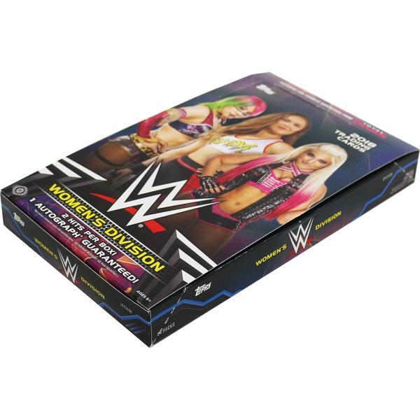 WWE Womens Division 2018 Topps トレーディングカード 1BOX 24パック入|bdrop