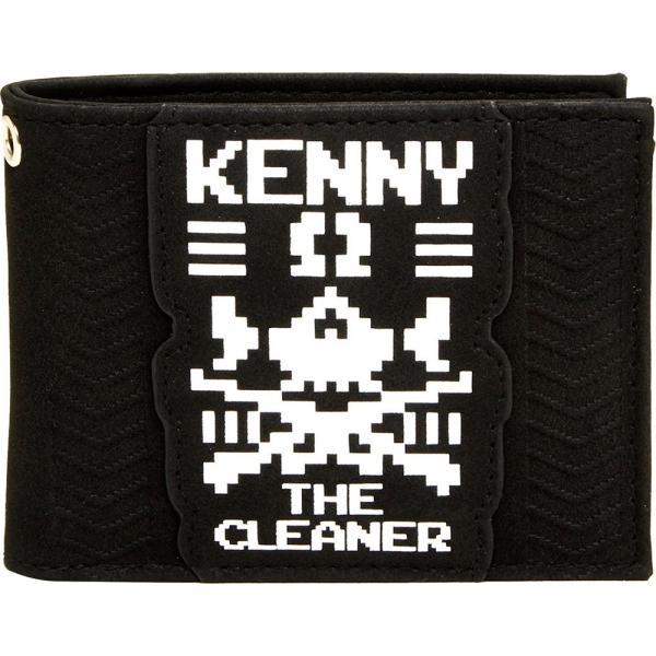 新日本プロレス/NJPW ケニー・オメガ The Cleaner 二つ折り財布|bdrop