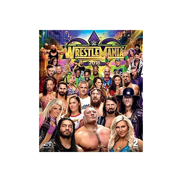 WWE WrestleMania 34 輸入Blu-ray|bdrop