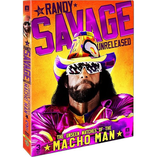 WWE Randy Savage(ランディ・サベージ) Unreleased The Unseen Matches of The Macho Man 輸入盤DVD|bdrop
