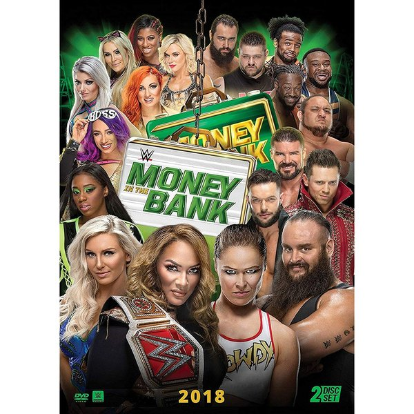 WWE Money in the Bank 2018 輸入DVD|bdrop