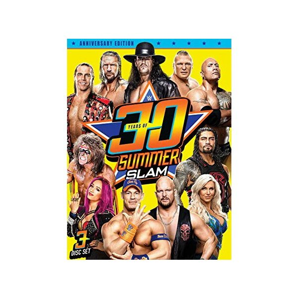 WWE 30 Years of SummerSlam 輸入盤DVD|bdrop