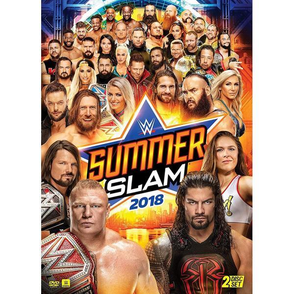 WWE SummerSlam 2018 輸入DVD bdrop