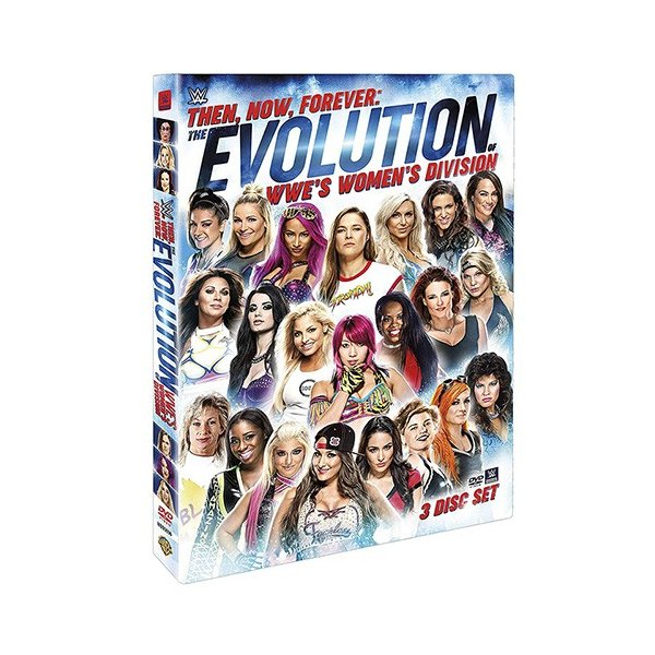 WWE Then Now Forever The Evolution of WWEs Womens Divisionn 輸入盤DVD|bdrop