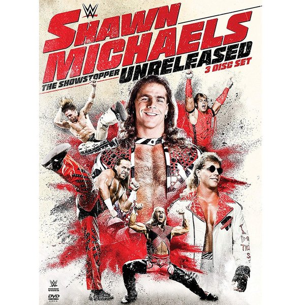 WWE Shawn Michalels(ショーン・マイケルズ) The Showstopper Unreleased 輸入盤DVD|bdrop