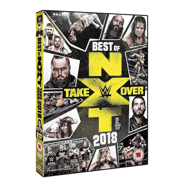 WWE Best of NXT Takeover 2018 輸入版DVD|bdrop