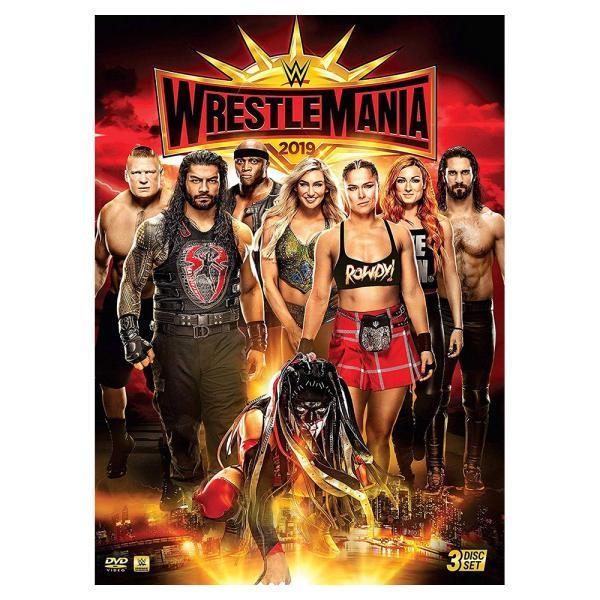 WWE WrestleMania 35 輸入DVD bdrop