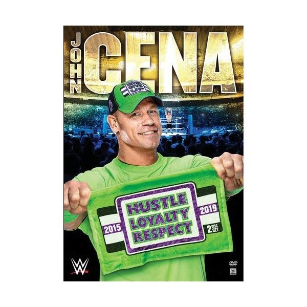 WWE John Cena(ジョン・シナ) Hustle Loyalty Respect 輸入盤DVD|bdrop