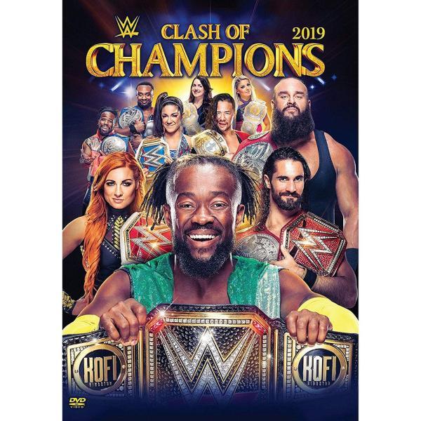 WWE Clash of Champions 2019 輸入DVD|bdrop