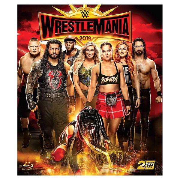 WWE WrestleMania 35 輸入Blu-ray|bdrop