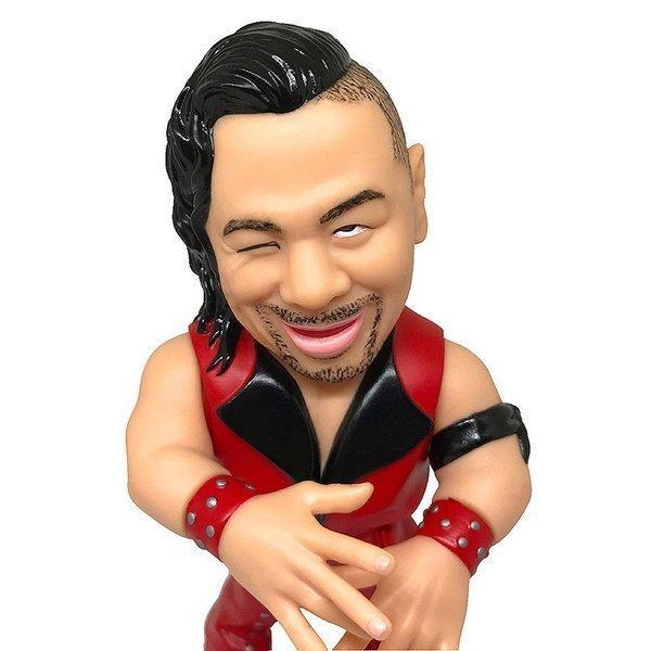 WWE 16dソフビコレクション004 中邑真輔 bdrop 04